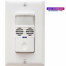 Enerlites MWOS Wall Motion Sensor Sound Ultrasonic PIR Occupancy Switch Module