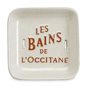 L'occitane self drainage soap dish