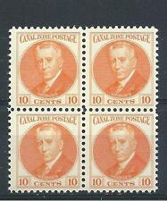 Canal Zone 1928 Sc# 108 general Harry Foote Hotges US block 4 MNH