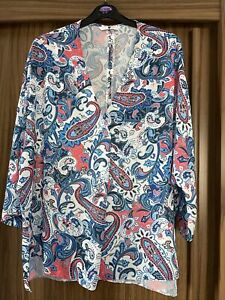 LOVELY LIGHTWEIGHT VERY BLOUSE TUNIC TOP VERY 16