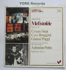 GML 39 - BOITO - Mefistofele highlights SIEPI / BROGGINI / POGGI - Ex LP Record