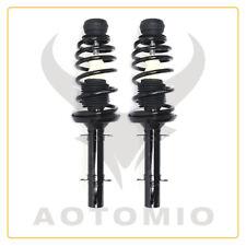 2 Pair Front Shock Struts Fits for 99-10 VW BEETLE, 99-06 VWGOLF, 99-05 VWJETTA