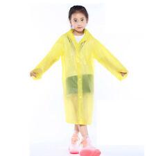 LC _ Chaqueta Impermeable Para Niños Plástico Abrigo Poncho Con Capucha