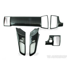 Carbon Air A/C Handle Interior Panel Cover For Ford Ranger Mk2 Facelift 2016-17
