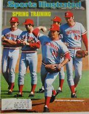 Sports Illustrated March 3, 1975 Cincinnati Reds SPRING TRAINING Vintage Magazin