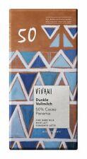 (6,24 EUR/100 g) KS Vivani Dunkle Vollmilch 50% Cacao 80 g