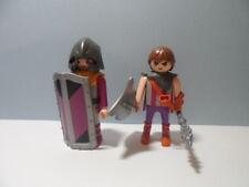 PLAYMOBIL – 2 chevaliers, barbares mauve / Knight, barbarous #5