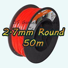 50m of Genuine STIHL 2.7mm ROUND Brushcutter Strimmer Trimmer Cord Line Wire