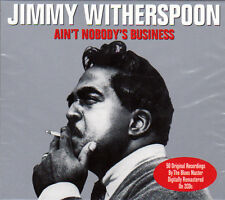JIMMY WITHERSPOON - AIN`T NOBODY`S BUSINESS (NEW SEALED 2CD)