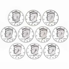 1990-1999 S Kennedy Half Dollar Gem  Proof Run 10 Coin Set US Mint SHIPS FREE!!