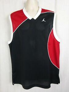 Michael Jordan 20th Anniversary Jersey Black & Red w/ White Trim ~ 85-05 ~Large