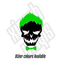 The Joker Vinyl Sticker Decal suicide squad car (Window Optional) Harley Quinn
