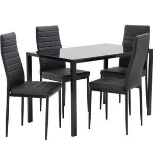 Dining Table Set Room Table for Small Spaces Set of 4 Kitchen Dining Table Set