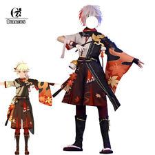 Kazuha Cosplay Costume Genshin Impact Kiryu Kazuha Cosplay Mens Outfit Halloween
