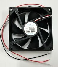 """1 piece D-36-B10A-05W5-100 DC Fan 92x25mm 24VDC 0.2A Short 5/"""" Blunt Cut Leads"""