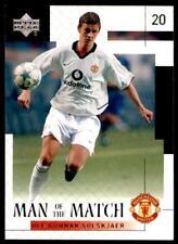 Upper Deck Manchester United 2002-2003 – Solskjaer Man of the Match No.40