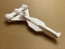 Model of Radiant VII spaceship from Star Wars (X-wing)