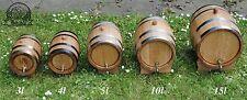 Oak Barrel Wooden 3l for Wine Spirit Whiskey Bourbon FAST FREE Delivery  24h UK