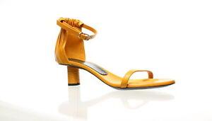 Proenza Schouler Womens Yellow Ankle Strap Heels EUR 37.5 (1355402)