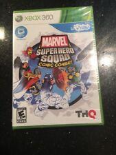 uDraw Marvel Super Hero Squad: Comic Combat  Microsoft XBOX 360 New Sealed