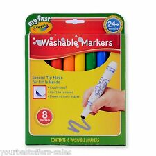 My First Crayola New Crayola Washable Markers Kids Crafts Supplies Toddler Toys