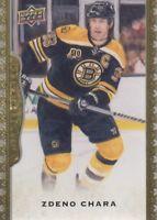 2014-15 Upper Deck Masterpieces Hockey #3 Zdeno Chara Boston Bruins