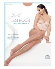 2 Silk Reflections Leg Boost Moisturizing Hosiery