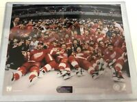 1998 Detroit Red Wings Stanley Cup Champions Team 8 x 10 Photo Licensed