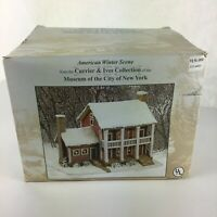 Currier & Ives Museum of The City of New York American Winter Scene Lighted