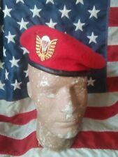"Vietnam war South Vietmam Army ""Nhay Du"" Airborne iBeret woven bullion insignia"