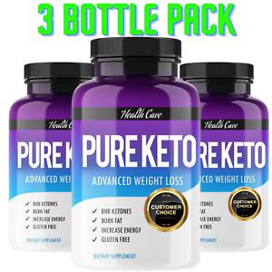 """KETO"" STRONG DIET PILLS FAST WEIGHT LOSS KETOSIS FAT BURNER SLIMMING -270 PILLS"