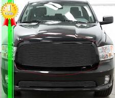Fits 2013-2019 Dodge Ram 1500 Main Upper Black Billet Grille Insert