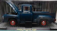 STOCK DARK BLUE 1956 56 FORD PICKUP TRUCK F100 F 100 11-09 M2