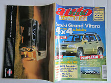 AUTO VERTE 4X4 N° 204 /SUZUKI GRAND VITARA/PATROL VS LAND CRUISER VS PAJERO