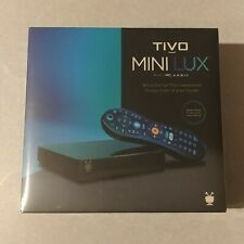 TiVo MINI LUX ~ NEW & SEALED ~ Not VOX ~ 4K UHD ~ GLOW REMOTE ~ Media Streaming