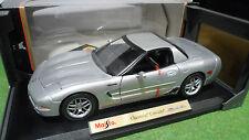 CHEVROLET CORVETTE Z06 gris 2001  1/18 MAISTO 31889 voiture miniature collection
