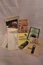 Group of Antique Radio Books 1980's FC