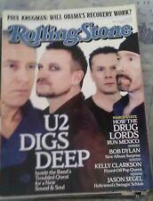 ROLLING STONE Magazine #1074 03/19/09 U2 Bob Dylan Kelly Clarkson