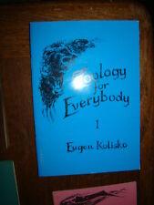 ZOOLOGY FOR EVERYBODY 1ST LECTURE  EUGEN KOLISKO  1978