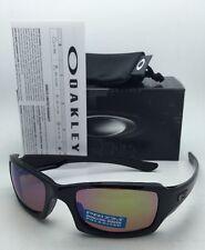 Polarized OAKLEY Sunglasses FIVES SQUARED OO9238-18 Black w/ Prizm Shallow H2O