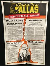 Debbie Does Dallas ORG 1978 One Sheet Movie Poster Bambi Woods XXX Adult Sex Hot