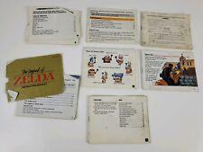 7 NES Nintendo Instruction Manual Booklet bundle - Damaged