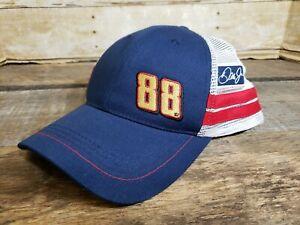 Dale Earnhardt Jr Hat 88 Ball Cap Snapback Racing Nascar