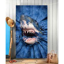 Wild Star Hearts - SHARK RIP-THRU - Beach Towel,