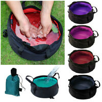 Ultra-light Portable Folding Washbasin Camping Basin Outdoor Survival Travel