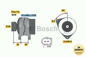 BOSCH Brand New ALTERNATOR UNIT for AUDI ALLROAD 2.7 quattro 2000-2005