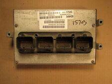 05 DODGE 1500 4.7L AT 8' BOX CALIF ECU ECM COMPUTER 56040475AC