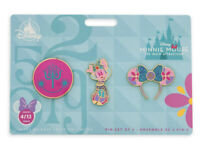 Disney Minnie Mouse Main Attraction It's A Small World Pin Set Limited Release