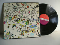 Led Zeppelin III no.3 LP 1st press 1970 UK Misprint