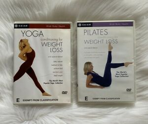 Pilates Yoga DVD 2 Suzanne Deason Routine Conditioning for Weight Loss